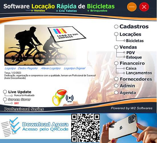 Software Locação de bicicletas por hora